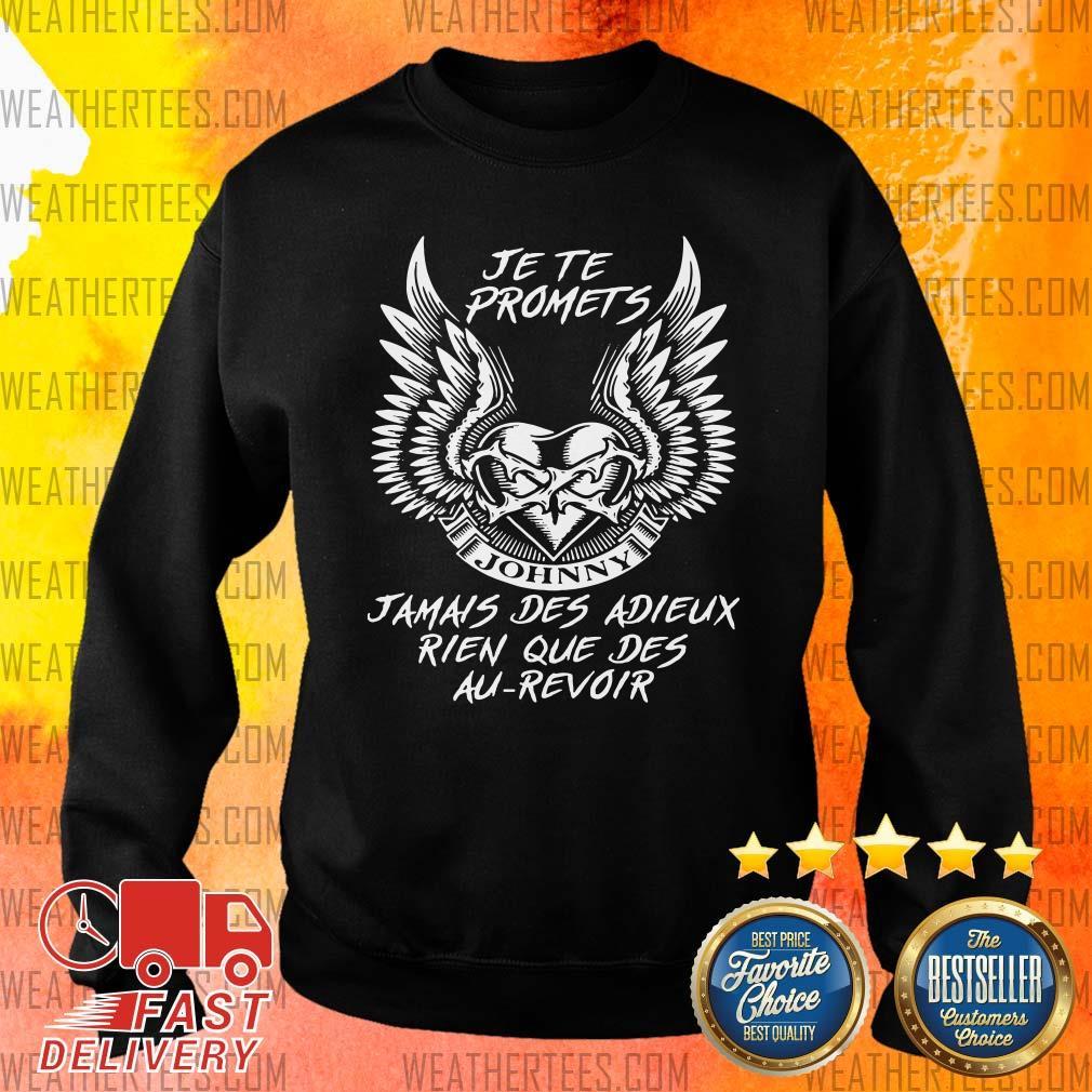 Nice Adieux Rien Que Des Au Revoir 9 Sweater - Design by Weathertee.com