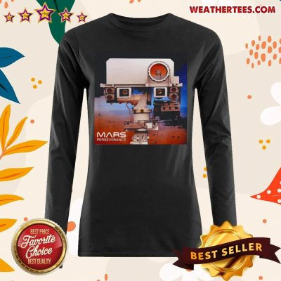 Nice Mars 2020 Rover Mission Long-sleeved - Design by Weathertee.com