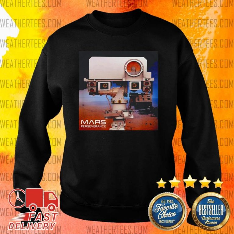 Nice Mars 2020 Rover Mission Sweater - Design by Weathertee.com