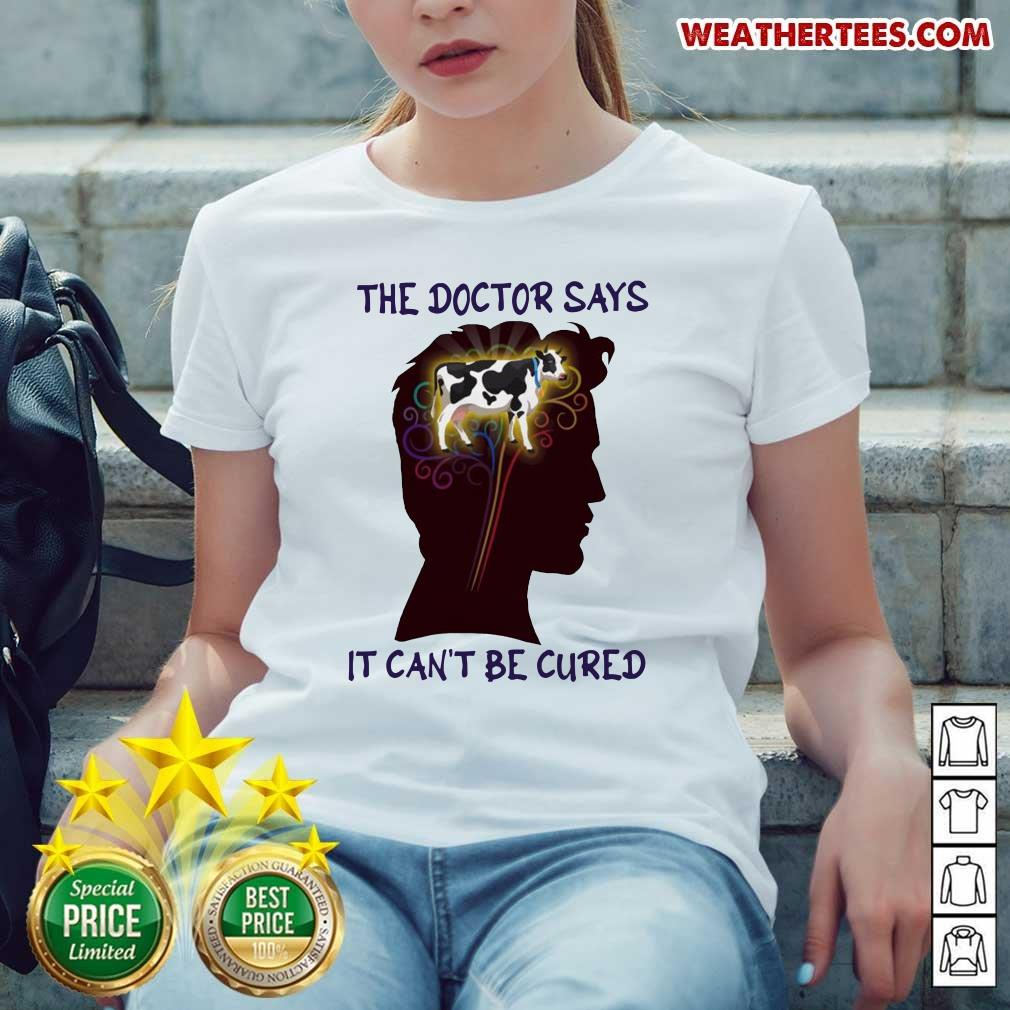 Nice Says It Cant Be 12 Cured Ladies-tee - Design by Weathertee.com