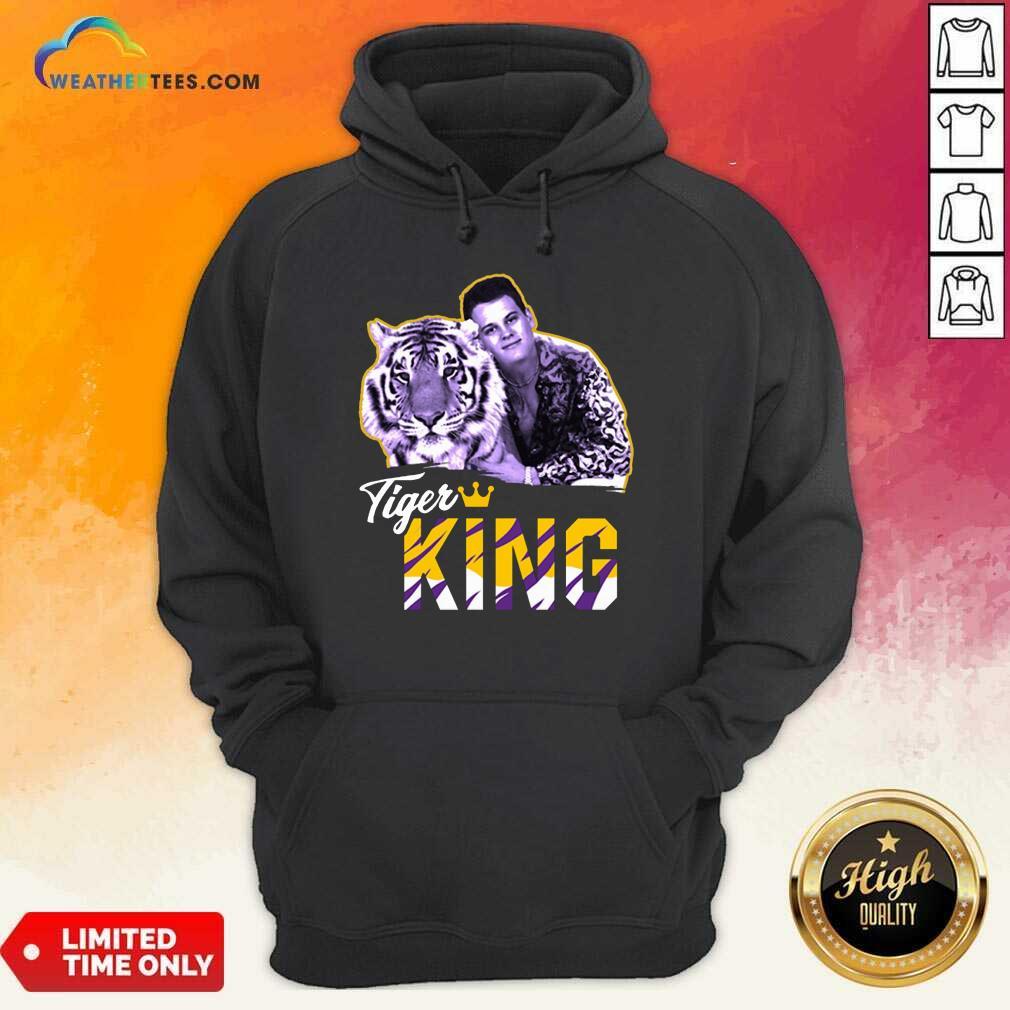 Official Joe Burrow Joe Exotic Tigers King Hoodie