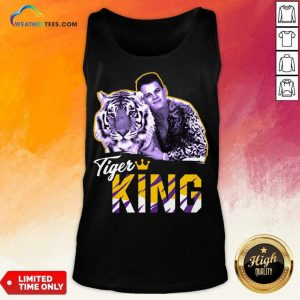 Official Joe Burrow Joe Exotic Tigers King Tank Top
