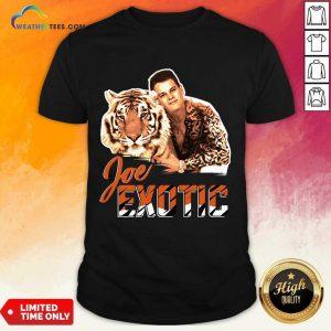 Official Joe Burrow Tigers King Joe Exotic Shirt