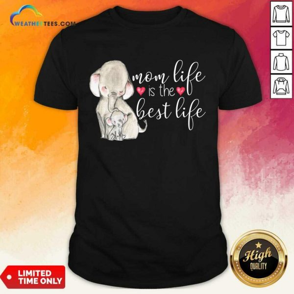 Overjoyed Mom Life Is The Best 789 Shirt