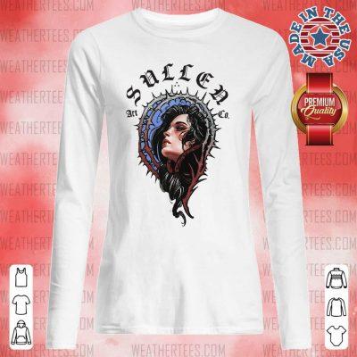 Pretty 16 Girl Sullen Art Co Long-sleeved - Design by Weathertee.com
