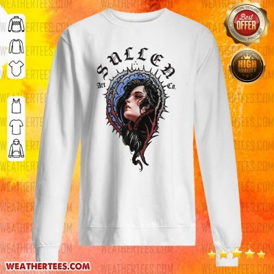 Pretty 16 Girl Sullen Art Co Sweater - Design by Weathertee.com