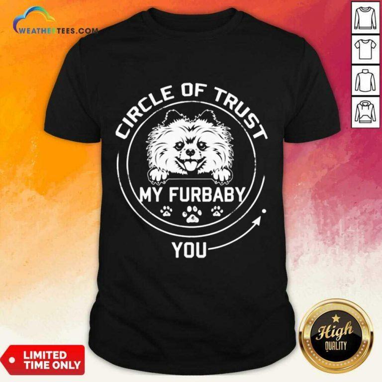 Relaxed My Furbaby Circle Dog 6 Shirt