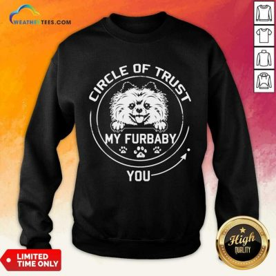 Relaxed My Furbaby Circle Dog 6 Sweatshirt