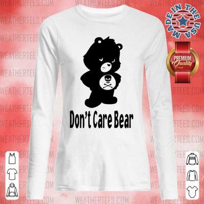 Shocked 7 Dont Care Bear Long-sleeved - Design by Weathertee.com