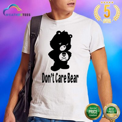 Shocked 7 Dont Care Bear Shirt - Design by Weathertee.com