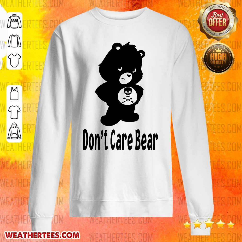 Shocked 7 Dont Care Bear Sweater - Design by Weathertee.com