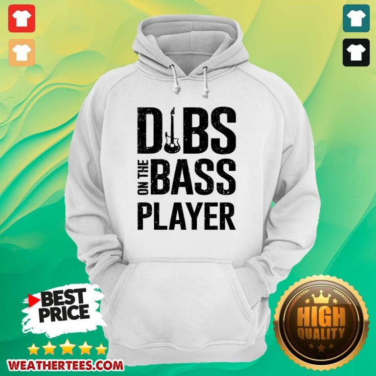 Surprised 4 Dibs On The Bass Player Hoodie - Design by Weathertee.com