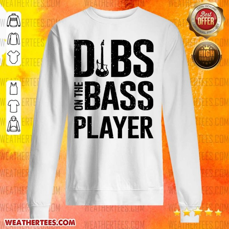 Surprised 4 Dibs On The Bass Player Sweater - Design by Weathertee.com