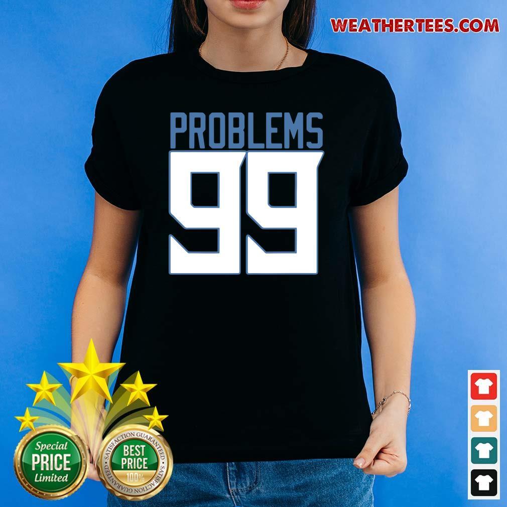 Surprised Tennessee 99 Problems Ladies-tee - Design by Weathertee.com