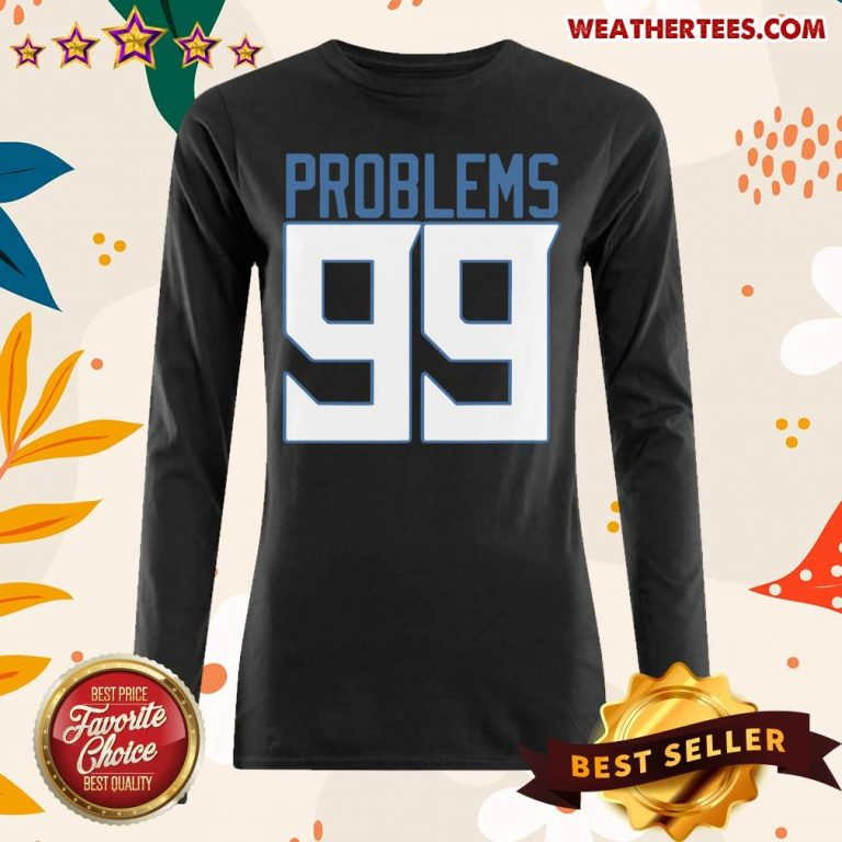 Surprised Tennessee 99 Problems Long-sleeved - Design by Weathertee.com
