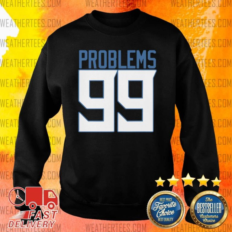 Surprised Tennessee 99 Problems Sweater - Design by Weathertee.com