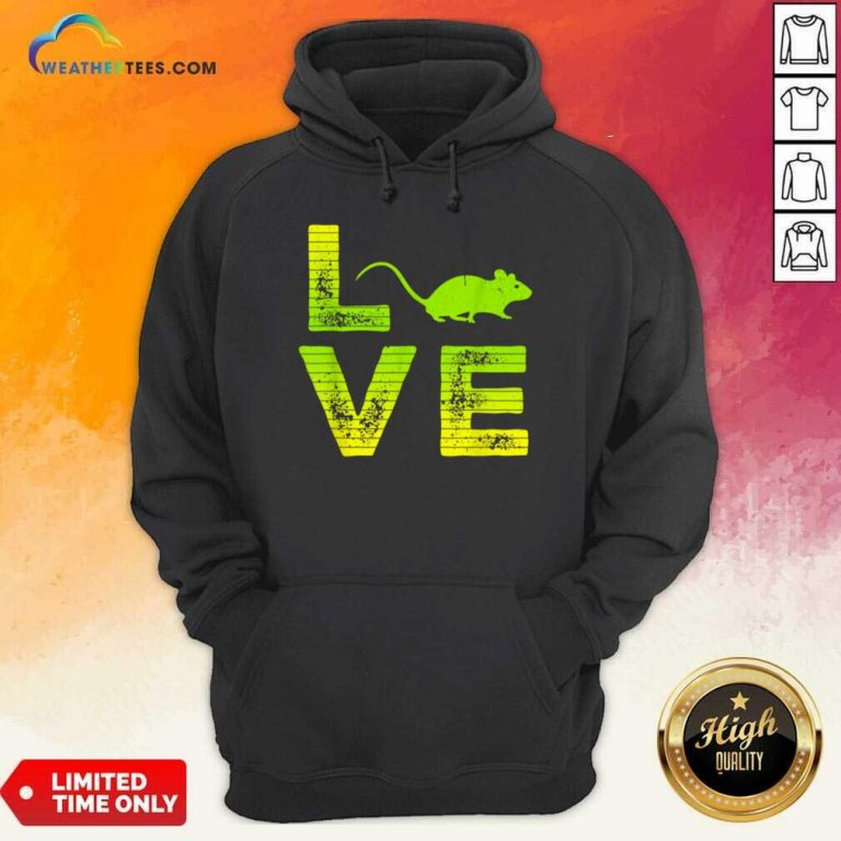 Terrific I Love Mouse Boy And Girl 6 Hoodie