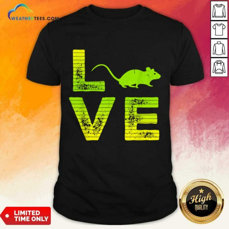 Terrific I Love Mouse Boy And Girl 6 Shirt