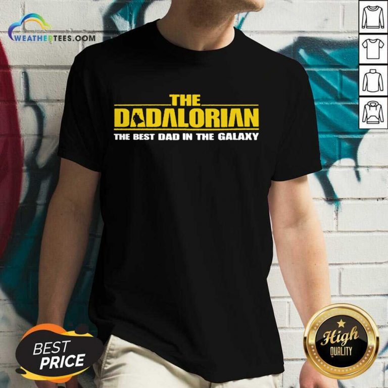 Terrific The Dadalorian In Galaxy 4 V-neck