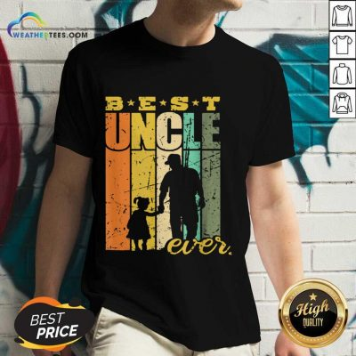 Warm Best Ever Uncle And Niece 101 V-neck