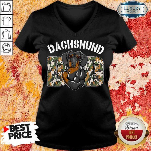 Original Dog Dachshund V-neck