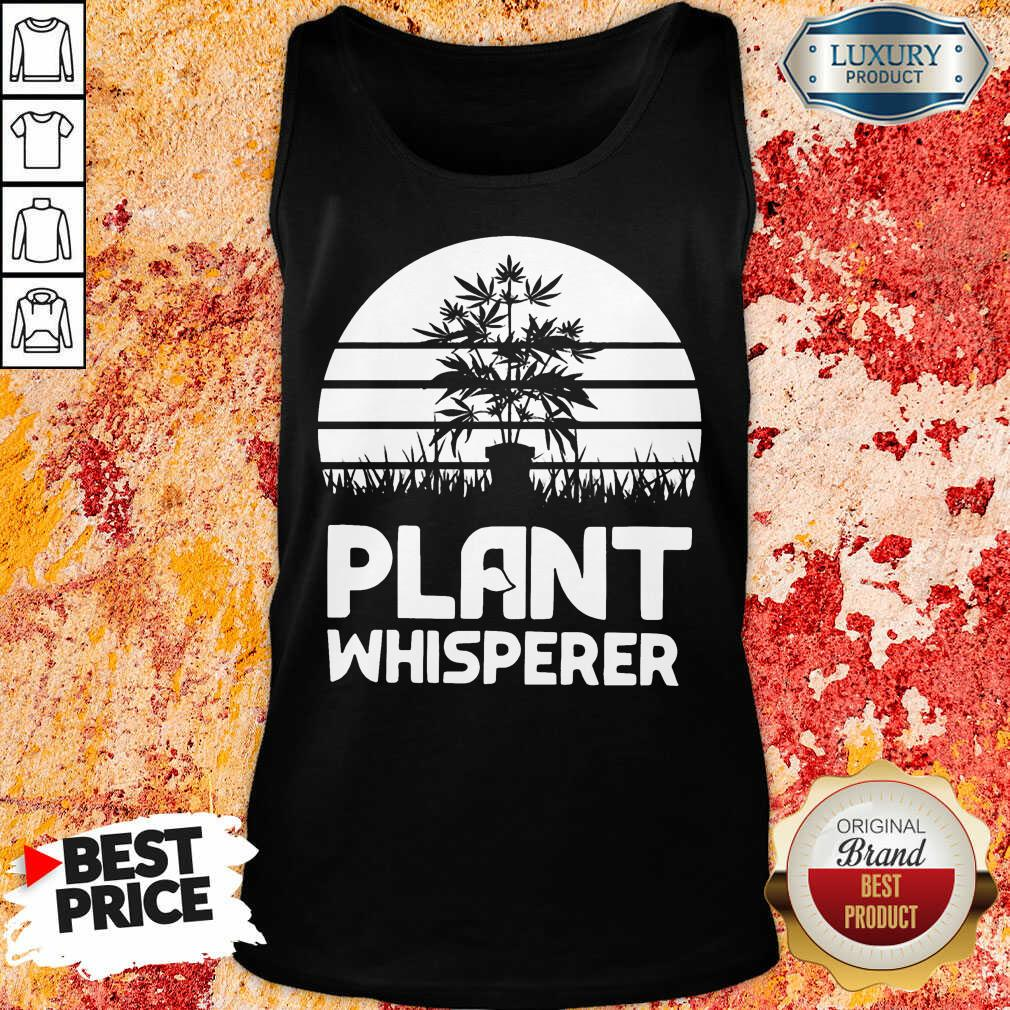 Perfect Cannabis Plant Whisperer Tank Top