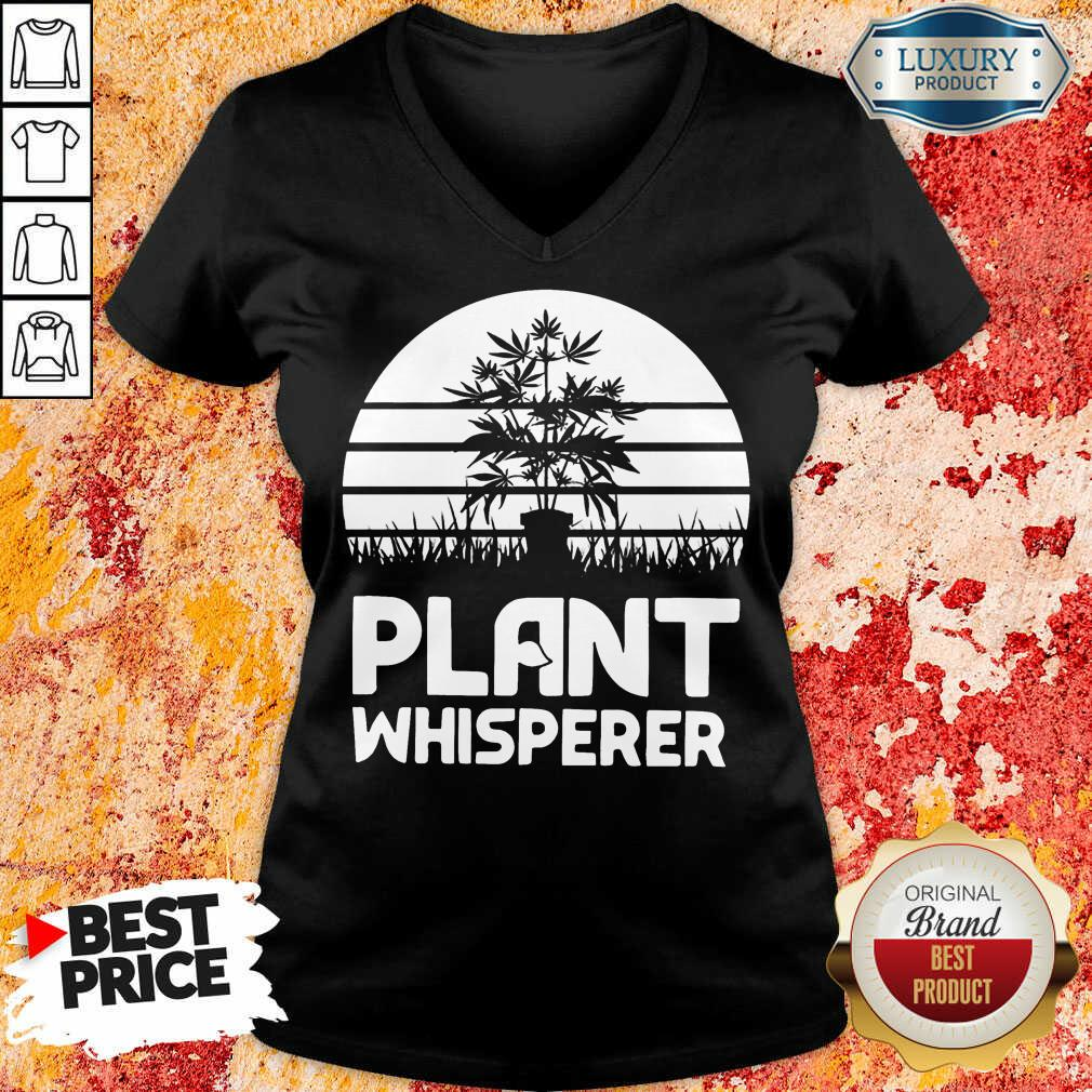Perfect Cannabis Plant Whisperer V-neck