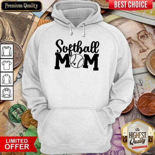 Perfect Softball Mom Hoodie
