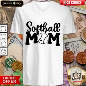 Perfect Softball Mom V-neck