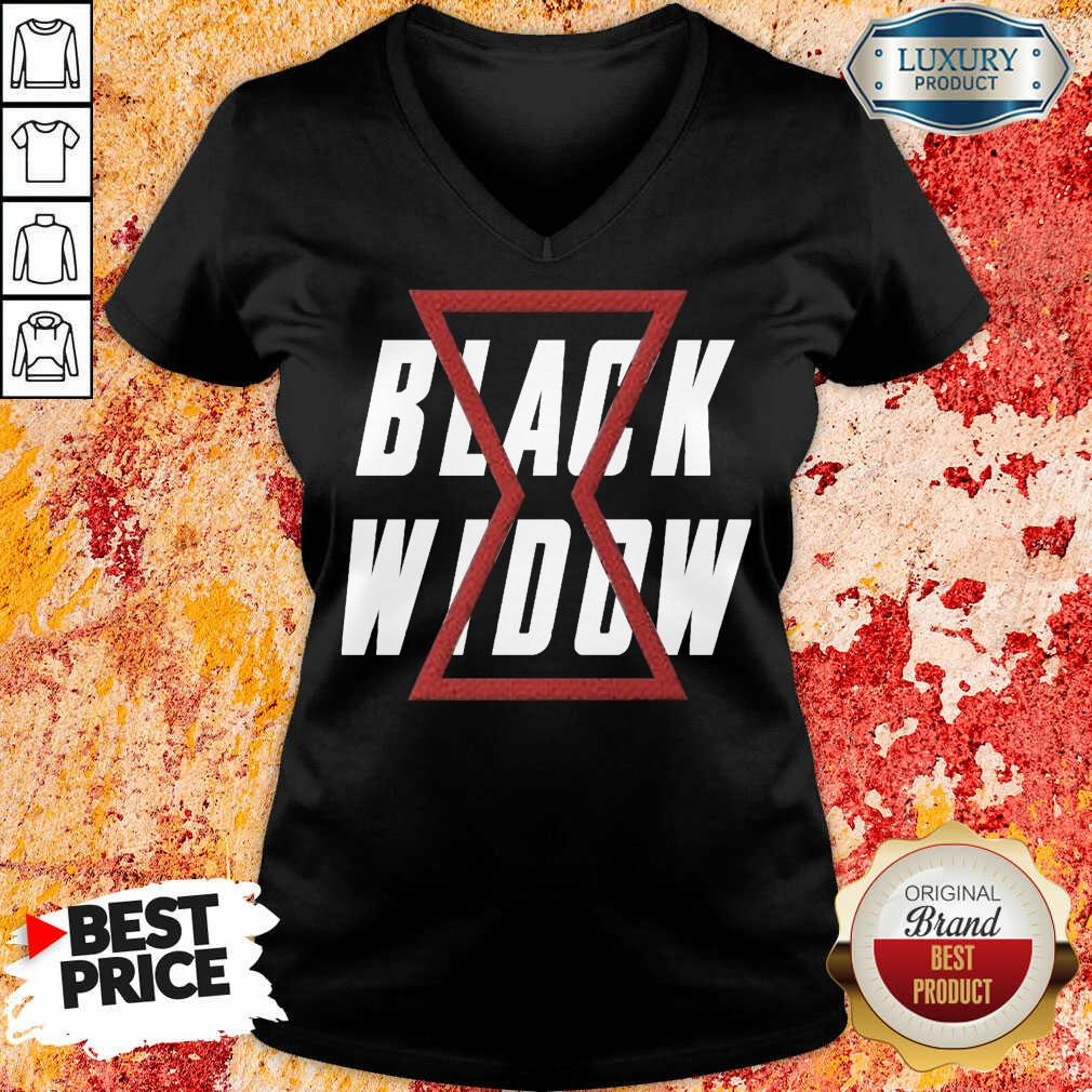 Premium Black Widow V-neck