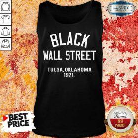 Black Wall Street Tulsa Oklahoma 1921 Tank Top