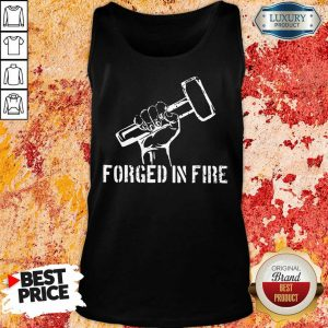 Blacksmith Forged In Fire Tank Top