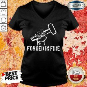 Blacksmith Forged In Fire V-neck
