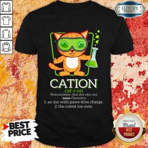 Cat Science Cation Shirt