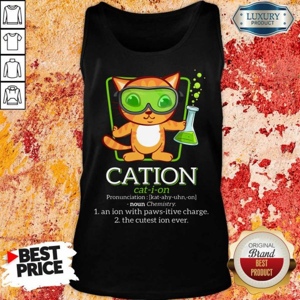 Cat Science Cation Tank Top