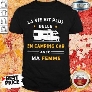 Humour Camping Car Ma Femme Shirt