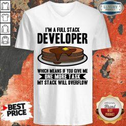 I'm A full Stack Overflow V-neck
