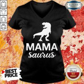 Mamasaurus V-neck