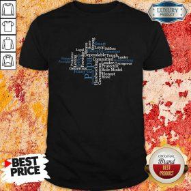 Papa Word Art Positive Sayings Best Shirt