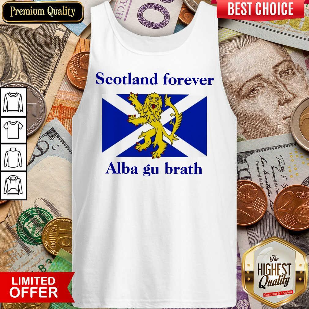 Scotland Forever Alba Gu Brath Tank Top