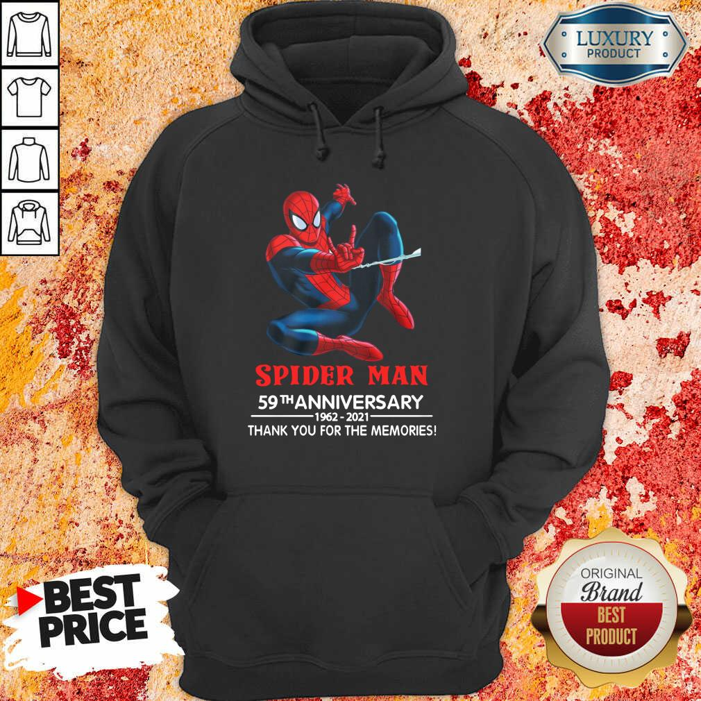Spider Man 59th Anniversary Hoodie