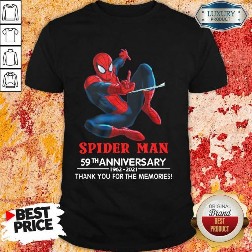 Spider Man 59th Anniversary Shirt
