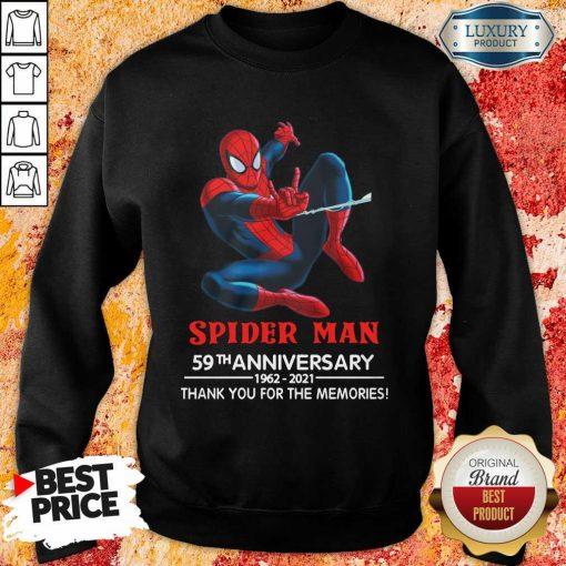 Spider Man 59th Anniversary Sweatshirt