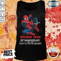 Spider Man 59th Anniversary Tank Top