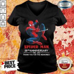 Spider Man 59th Anniversary V-neck