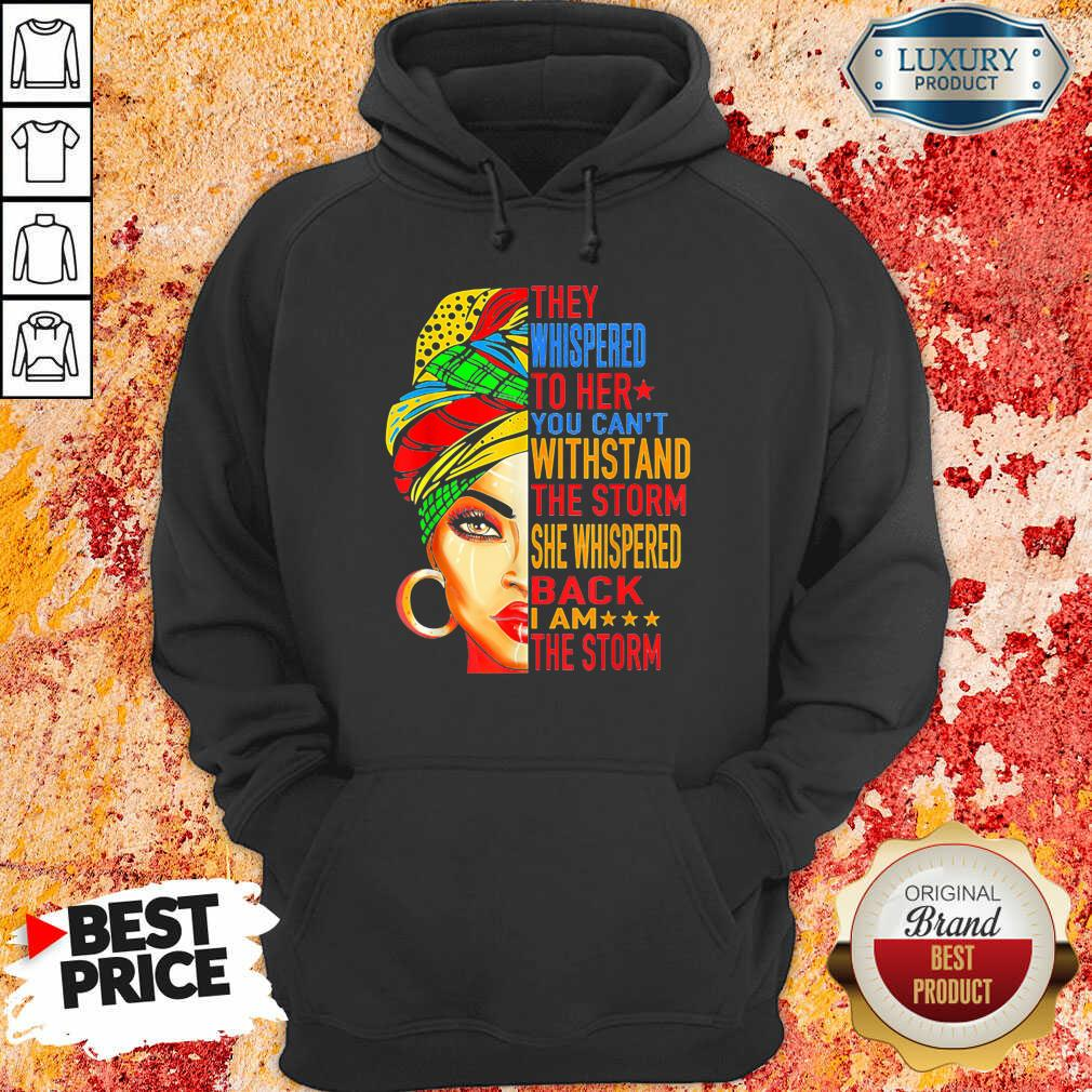 Whispered To Melanin Queen Lover Gift Hoodie