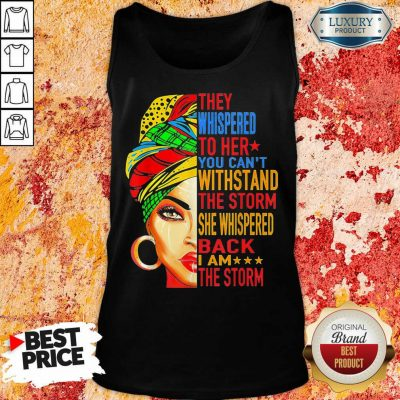 Whispered To Melanin Queen Lover Gift Tank Top